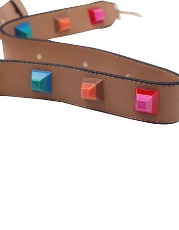 Studded Bag Belt