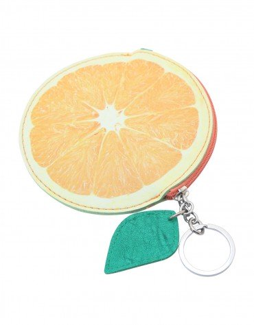 Orange Coin Pouch