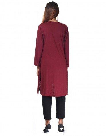 Curved Hem Dress