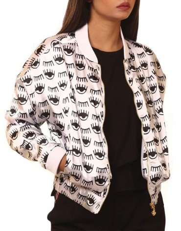 Quirky Print Bomber