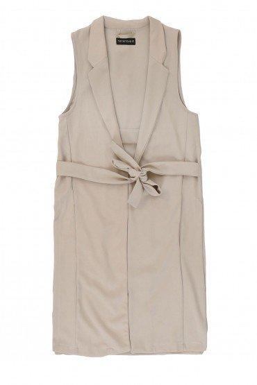 Belted Vest Coat