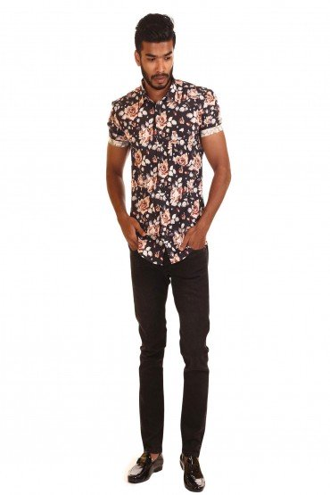 Rose Printed Shirt