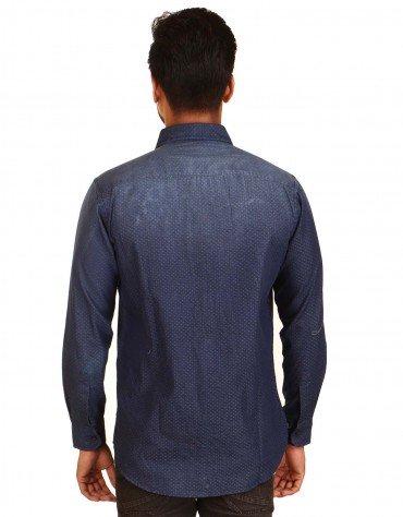 Polka Dot Full Sleeved Shirt