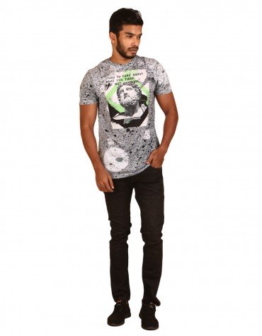 All Over Funky Print T-Shirt